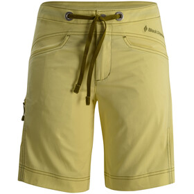 Black Diamond Credo - Shorts Femme - jaune